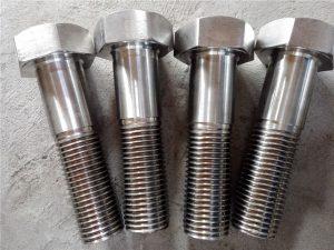 Bollt hecs Rhif 15-Nitronig 50 XM-19 DIN931 UNS S20910