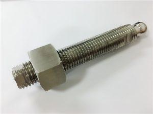 Rhif 22-Custom CNC melino bollt pen pêl dur gwrthstaen a chlymwr