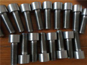 Rhif 9-Incoloy 926 EN1.4529 Clymwr sgriw pen soced UNS N08926